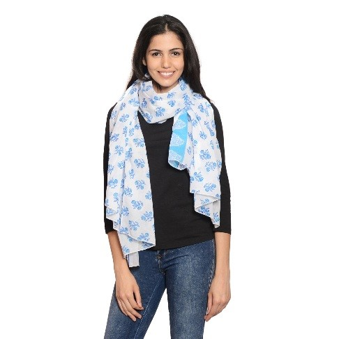 Girl with Cotton Scarf