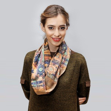 Girl with Silk Scarf