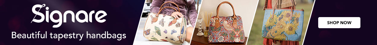 Beautiful tapestry handbags