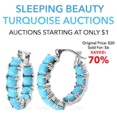 Sleeping Beauty Turquoise Auctions