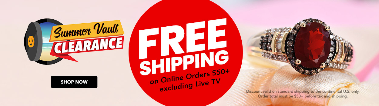FREE SHIPPING on Online Orders $50+