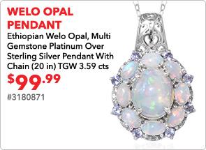 Welo Opal Pendant