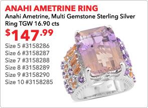 Anahi Ametrine ring