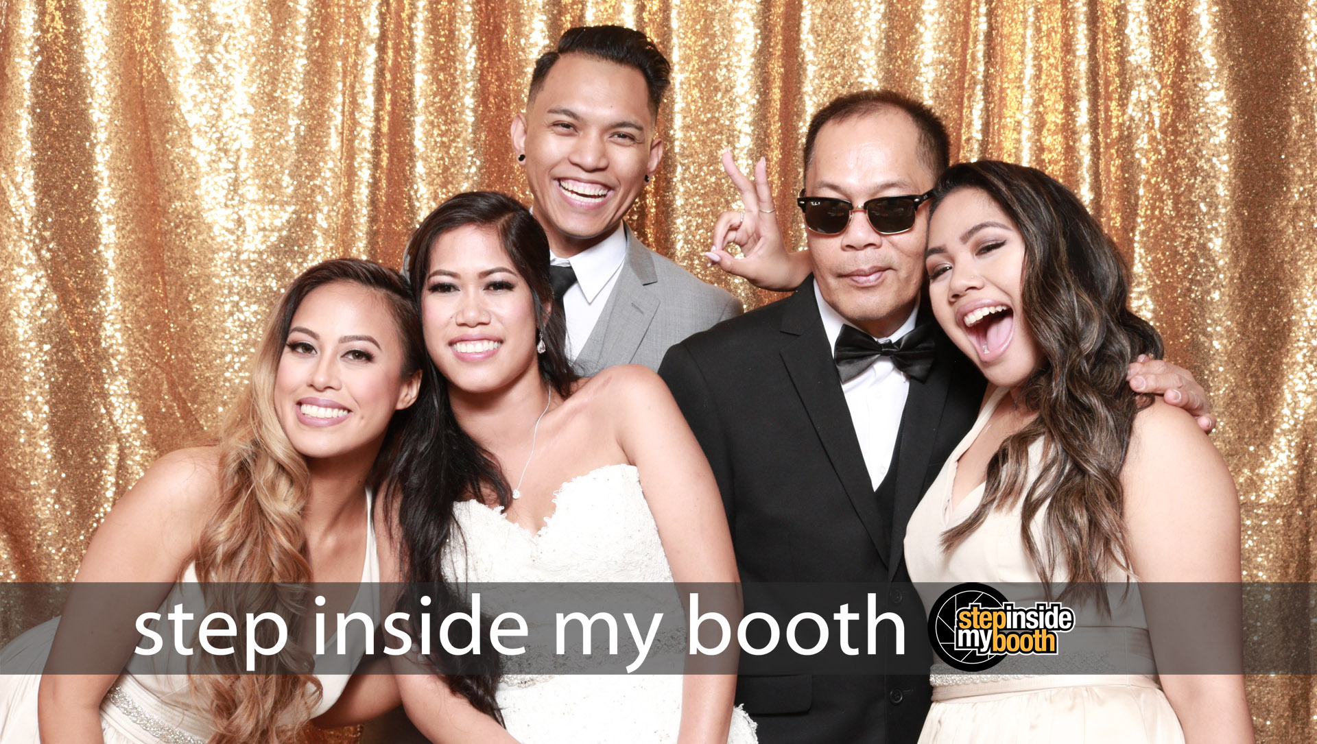 Step Inside My Booth - Kaycee and Guerard Wedding - Sept 2, 2018