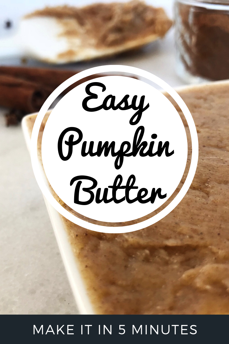 Pumpkin Butter Recipe - Pin | Sister Spice