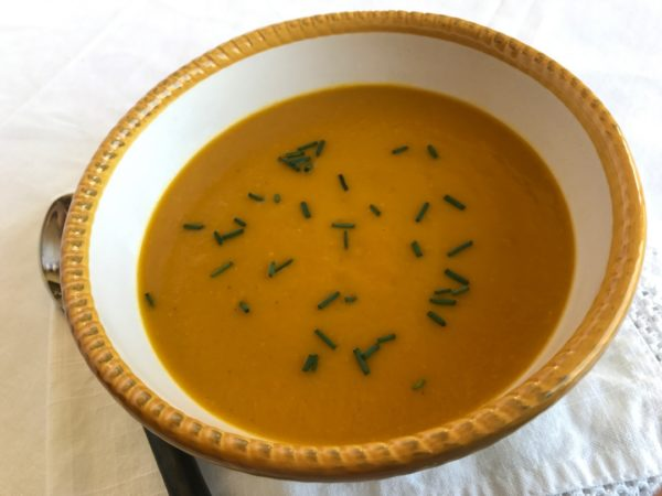 Spiced Butternut Squash Soup - Sister Spice Recipe