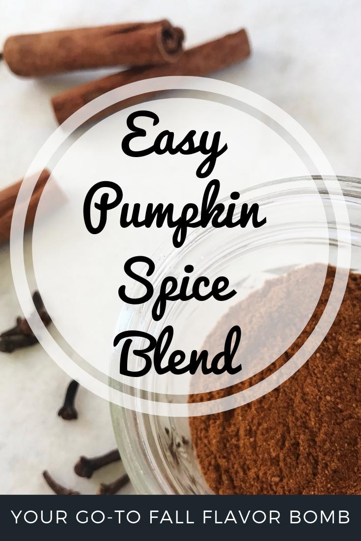 Pumpkin Spice Blend Recipe | Sister Spice