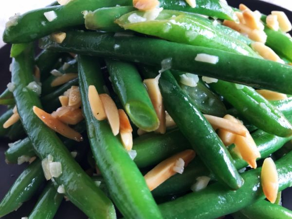 Fresh Green Bean Recipes: Green Beans Amandine - Sister Spice Recipe