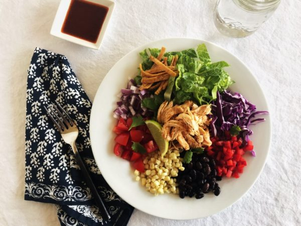 Southwestern Chicken Salad - Sister Spice Recipe