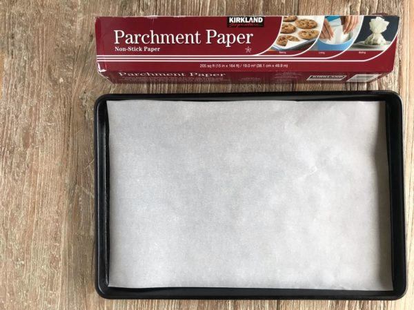 Easy Flatbread Pizza - Parchment Paper Step | SisterSpiceKitchen.com Recipe