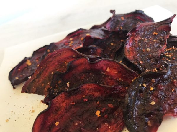 Beet Chips Recipe: Barbecue Baked - 1080 | SisterSpiceKitchen.com