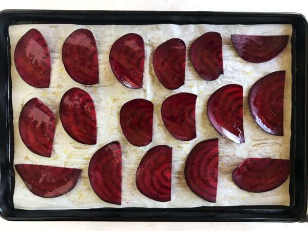 Beet Chips Recipe: Barbeuce Baked - Step 6 | SisterSpiceKitchen.com