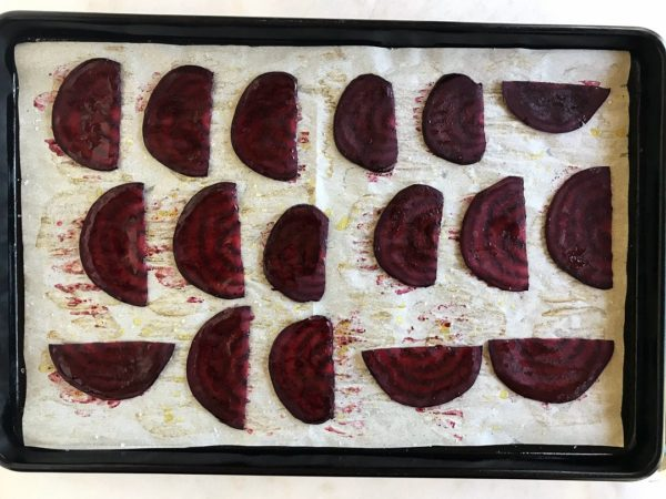 Beet Chips Recipe - Barbecue Baked - Step 8 | SisterSpiceKitchen.com