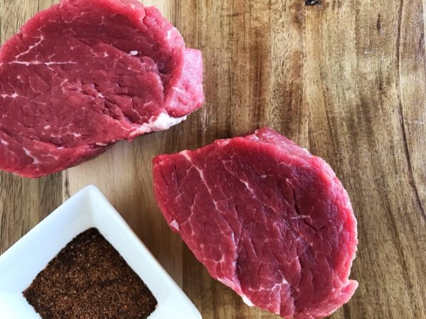 Best Way to Cook Steaks - Cast Iron Skillet Espresso Rubbed Filet Mignon | SisterSpiceKitchen.com