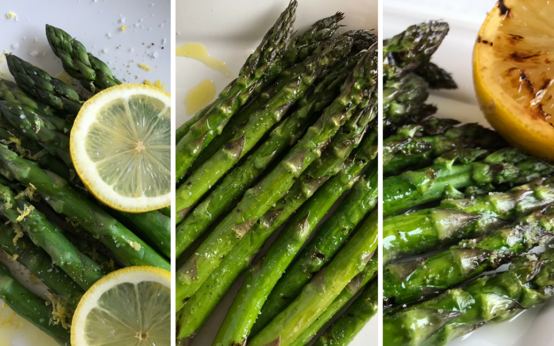 How to Cook Asparagus: 3 Ridiculously Easy Ways