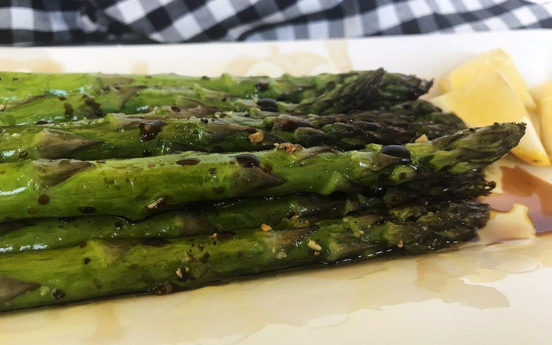 Roasted Asparagus with Balsamic Glaze
