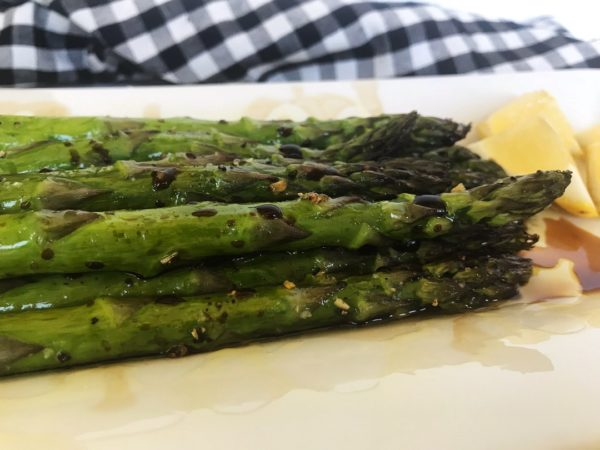 Roasted Asparagus with Balsamic Glaze   SisterSpiceKitchen.com Recipes