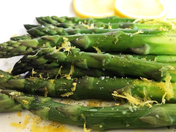 Steamed Asparagus: Microwave Method | SisterSpiceKitchen.com