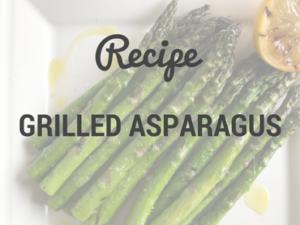Grilled Asparagus | SisterSpiceKitchen.com