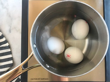 Hard Boiled Eggs - Step 2 | SisterSpiceKitchen.com