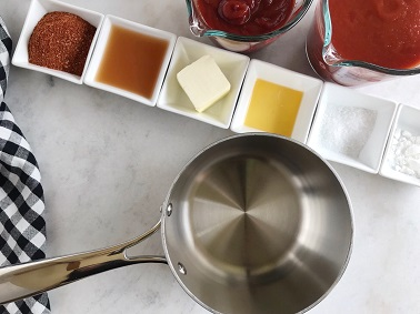 Barbecue Sauce Recipe - Step 1 | SisterSpiceKitchen.com