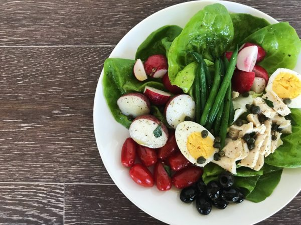 Nicoise Salad with Rotisserie Chicken | Sister Spice