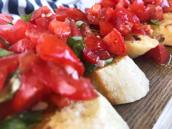 Bruschetta - 1080 | Sister Spice Kitchen Easy Everyday Gourmet