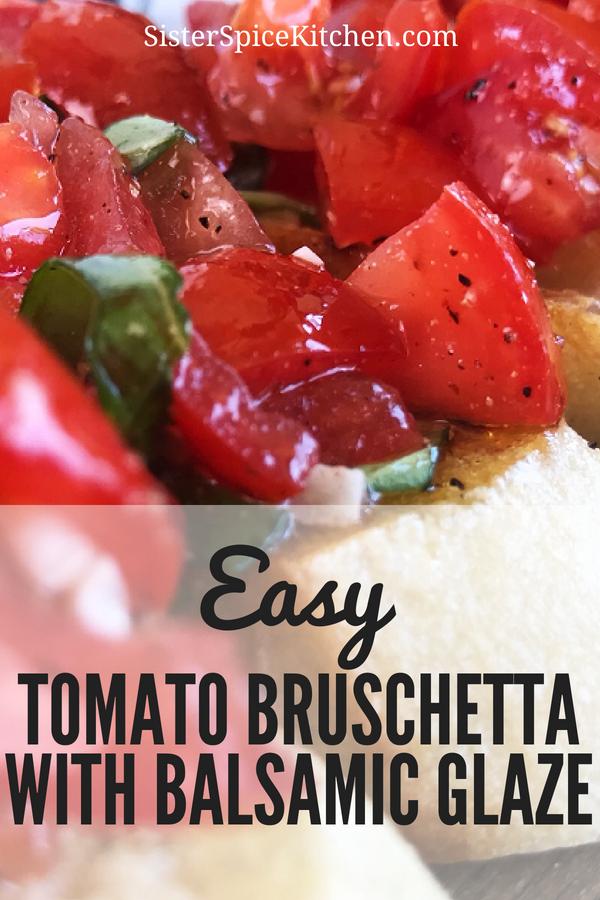 Bruschetta - Pin | Sister Spice