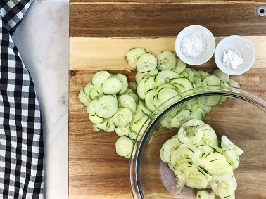 Cucumber Salad - Step 3 | Sister Spice