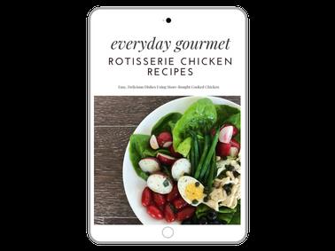Free Cookbook - Rotisserie Chicken Recipes | Sister Spice