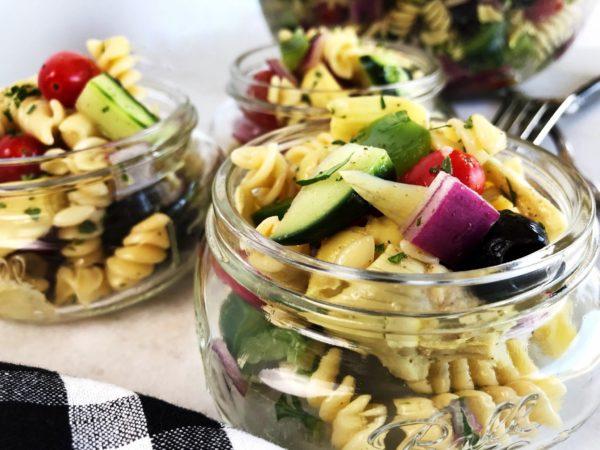 Easy Italian Pasta Salad | Sister Spice Recipe