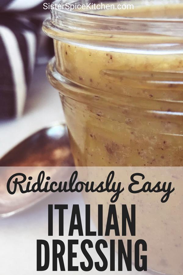 Pin - Italian Dressing | Sister Spice Recipe