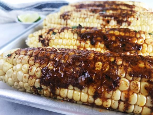 Grilled Corn on the Cob | Sister Spice Recipe