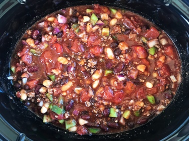 Slow Cooker Chili - Step 7 | Sister Spice