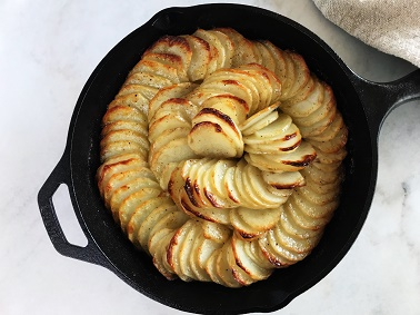 Pommes Anna the Easy Way   Sister Spice Recipes