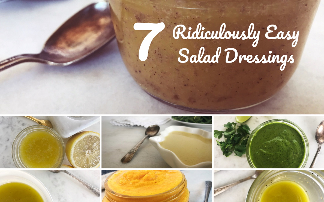 Salad Dressing Recipes: Ridiculously Easy Homemade Healthy