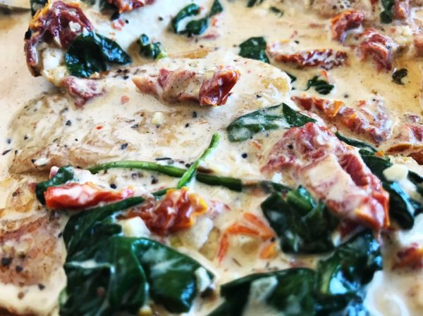 Chicken Florentine - Feature Image | Sister Spice