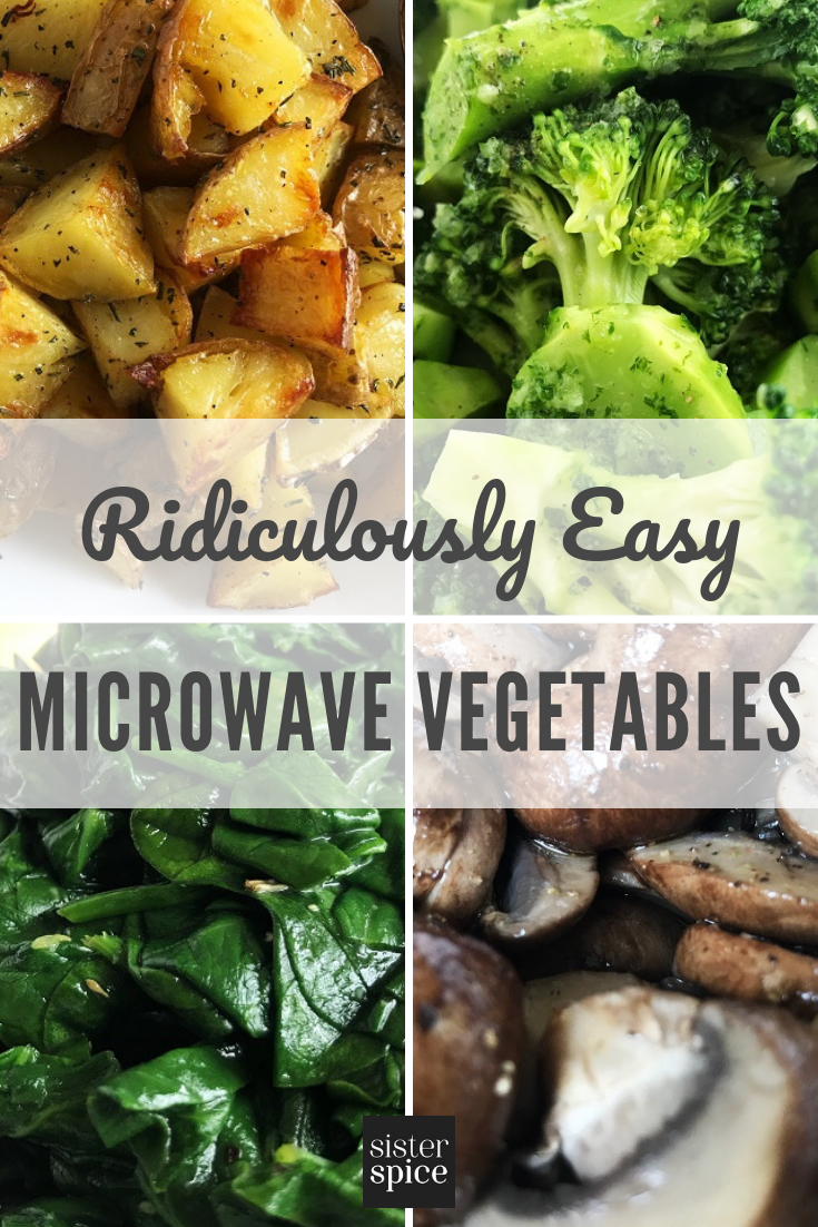 Pin - Microwave Recipes | Sister Spice Easy Everyday Gourmet