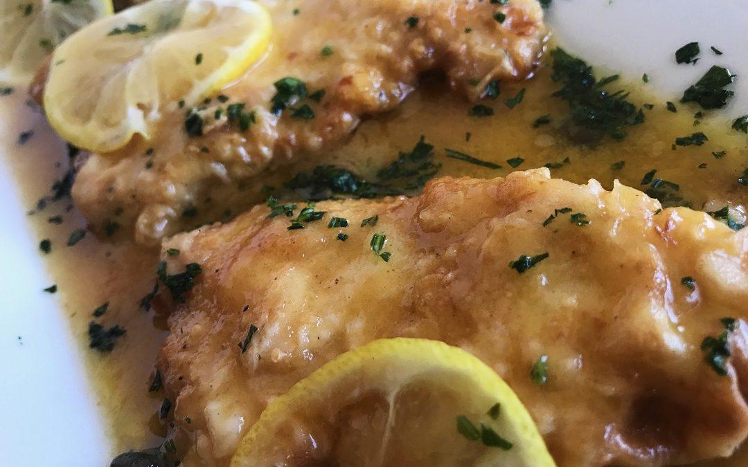 Chicken Piccata with Lemon Caper Sauce