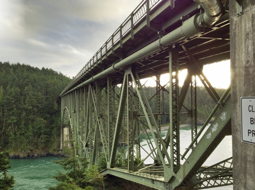 Seattle Deception Pass Bridge