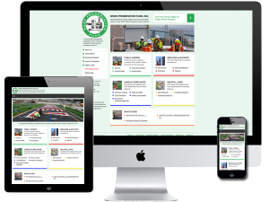 Public Works Projects Labor Management Organization Website Design