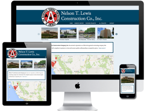 Commercial Contractor Website Design