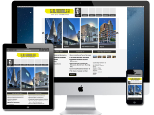 Commercial Doors/Frames/Hardware/Showroom Website Design