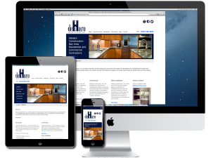 Residential/Commercial Contractor Website Design