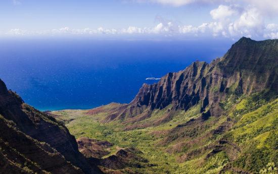 kauai valley panorama