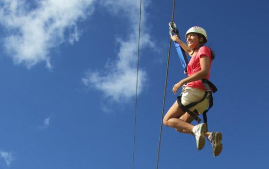Kauai zipline image