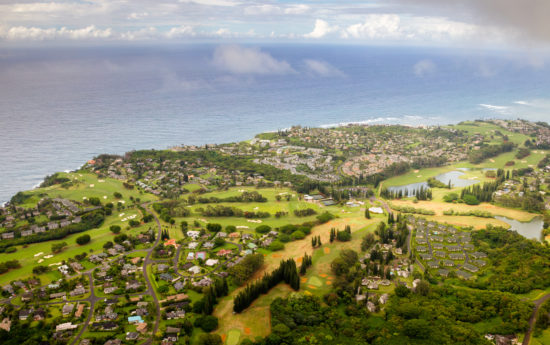 Princeville, Kauai view