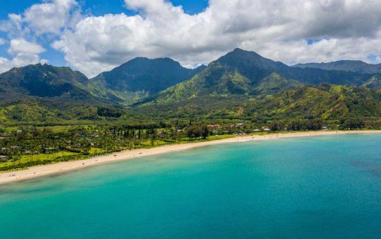 Hanalei Bay on Kauai