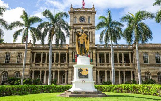 King Kamehameha Honolulu Hawaii