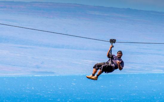 Zipline in Hawaii